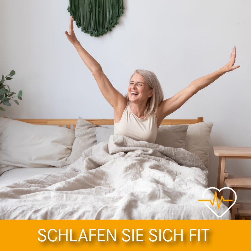 Schlaf dich fit!